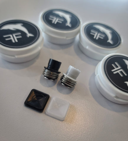 Delrin V2 FLIPPER2 Tip & Button Set