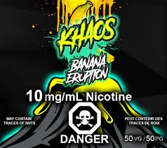 Khaos Salts - Banana Eruption