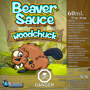 Copy of Beaver Sauce  - Woodchuck