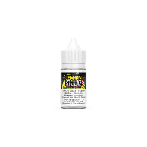Lemon Killaz Salts - Primal Squeeze