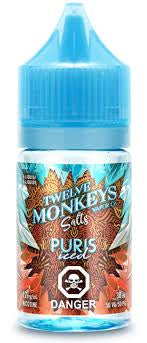 Twelve Monkeys Salts - Ice Age Puris Iced