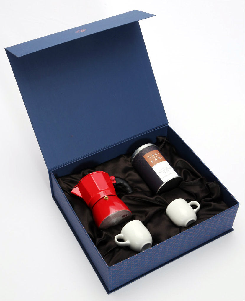 Premium Coffee Moka Pot Gift Set