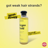 HairFood Co. Argan Gold Shampoo (Hair Repair) - HairFood Co. Worldwide
