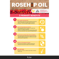 HairFood Co. 100% Rosehip Oil 30ml - HairFood Co. Worldwide