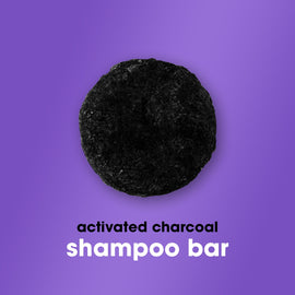 Shampoo Bar with Activated Charcoal 70g - HairFood Co. Worldwide