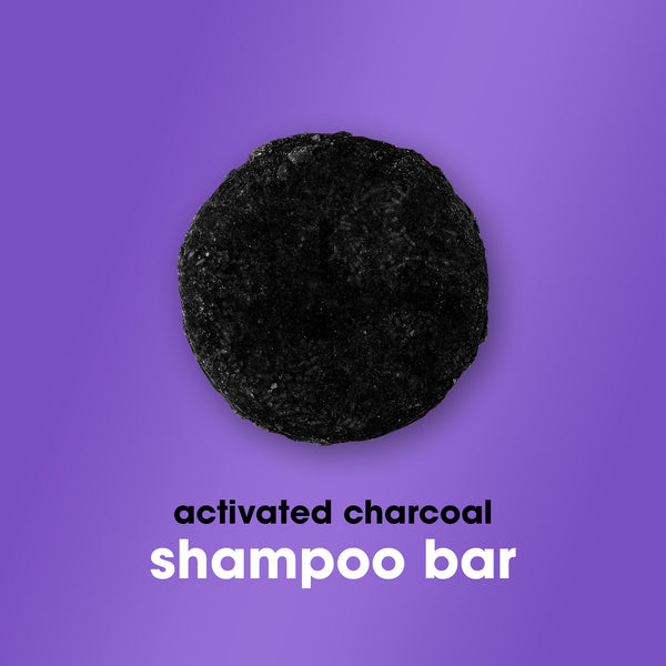 Shampoo Bar with Activated Charcoal - HairFood Co. Worldwide