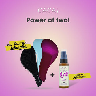 Cacai Duo Instant Hair Fix - HairFood Co. Worldwide
