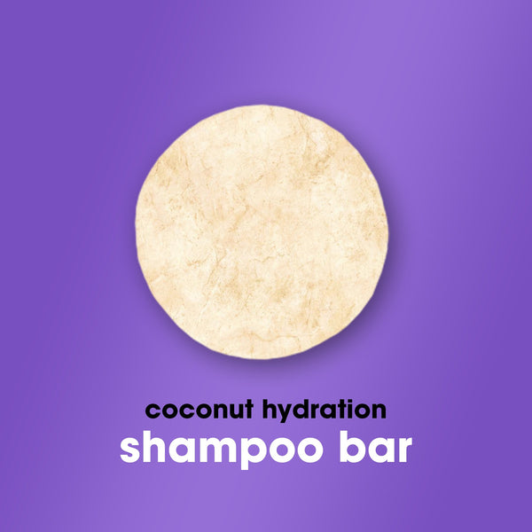 Shampoo Bar with Coconut Milk - HairFood Co. Worldwide