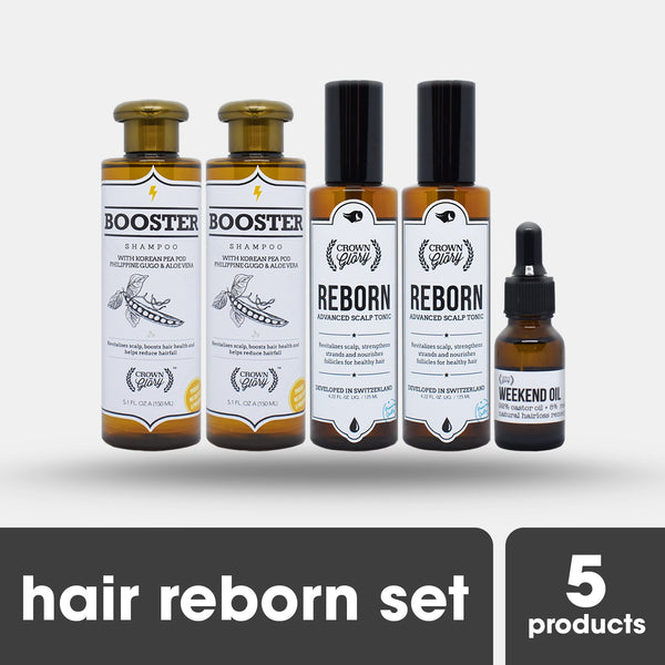 Crown & Glory Hair Reborn Set (Hair Grower) - HairFood Co. Worldwide