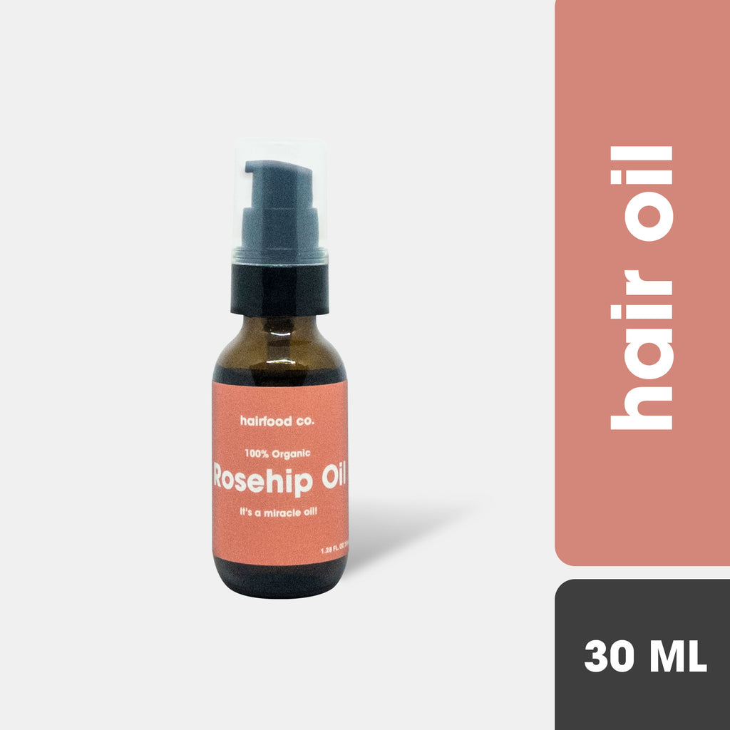 HairFood Co. 100% Rosehip Oil 30ml