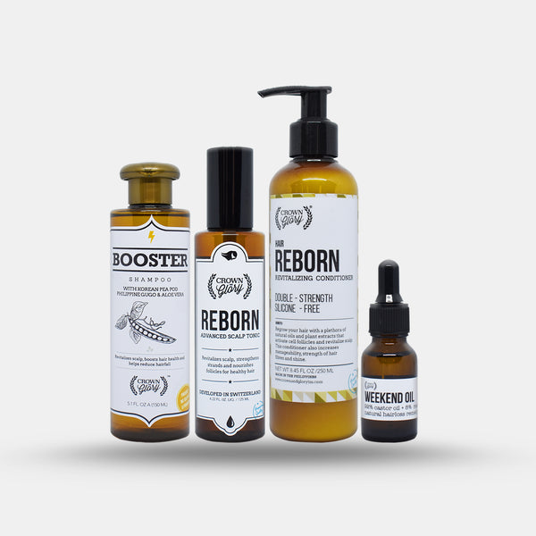 Crown and Glory Reborn Starter Pack (Hair Grower) - HairFood Co. Worldwide