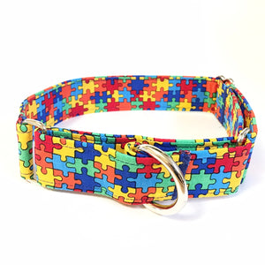 Jigsaw Martingale Collar - Small - N.G. Collars