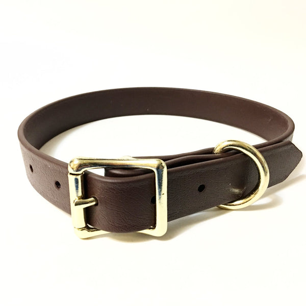 Brown Proof Collar - N.G. Collars