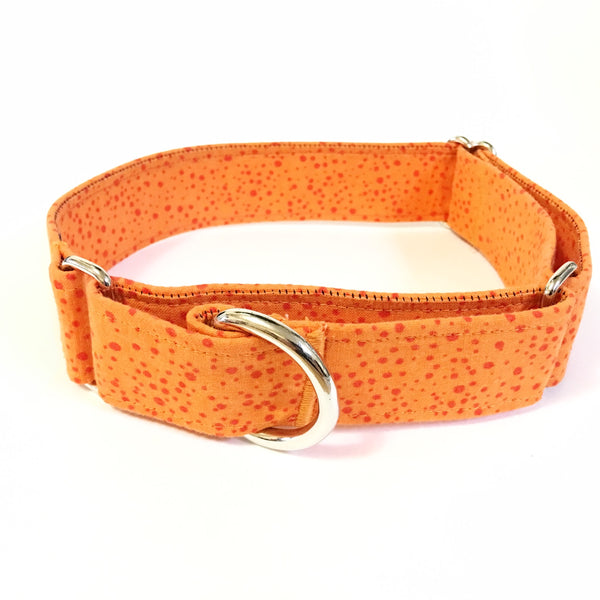Orange Peel Martingale Collar - Large - N.G. Collars
