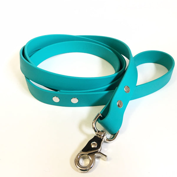 Teal Proof Leash - N.G. Collars