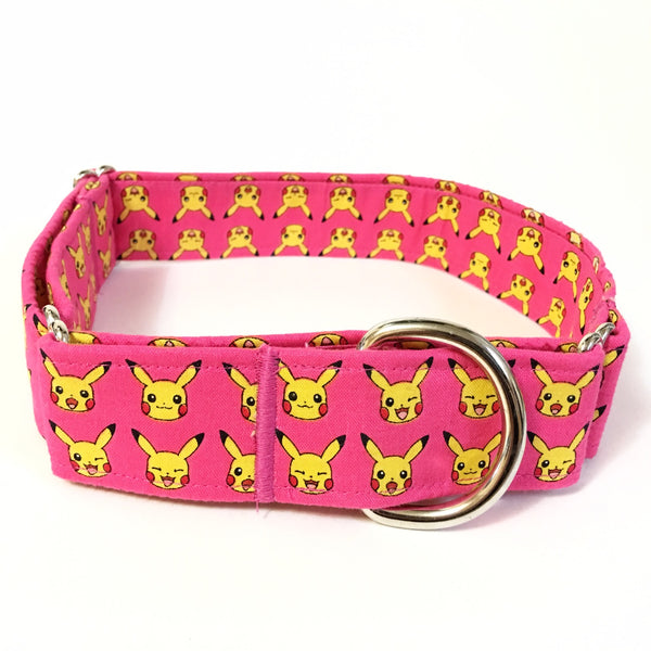 Pikachu Martingale Collar - Medium - N.G. Collars