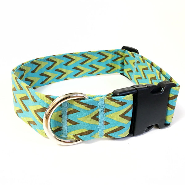 Earth and Wind Buckle Collar - Small - N.G. Collars