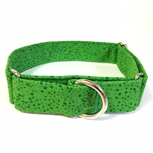 Green Eggs and Ham Martingale Collar - N.G. Collars