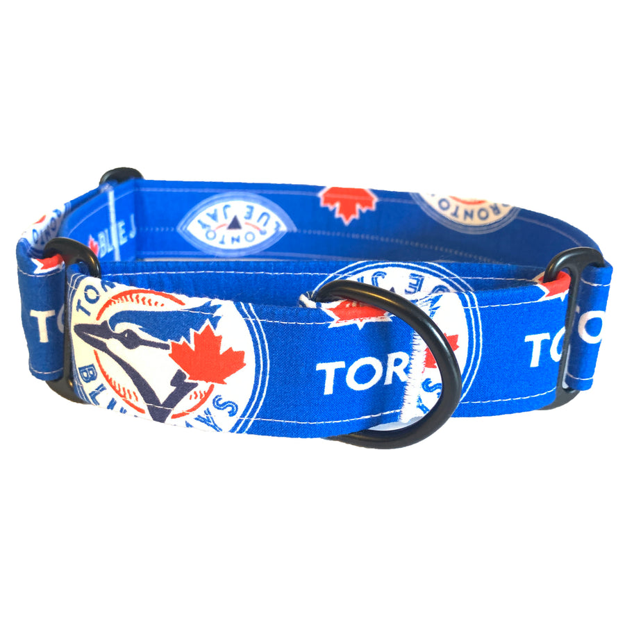 Blue Jays Martingale Collar - N.G. Collars