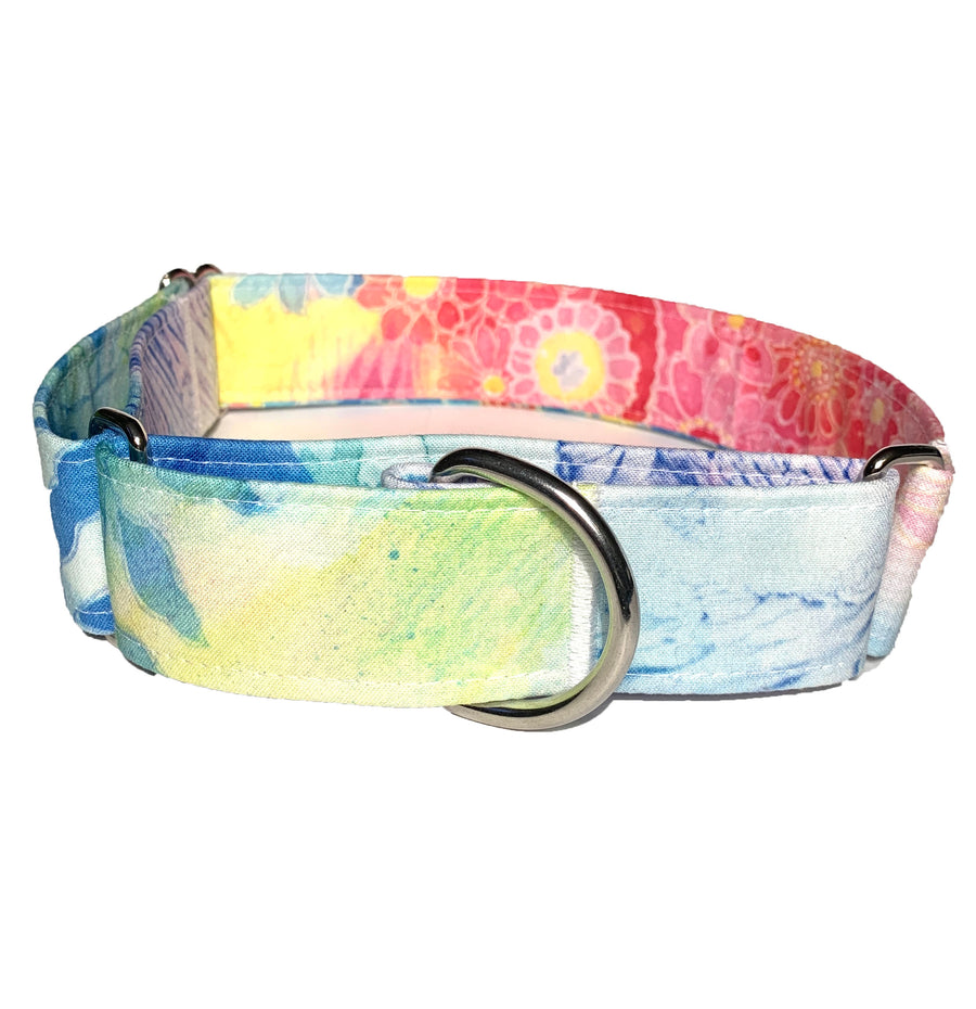 Flower Child Martingale Collar - N.G. Collars