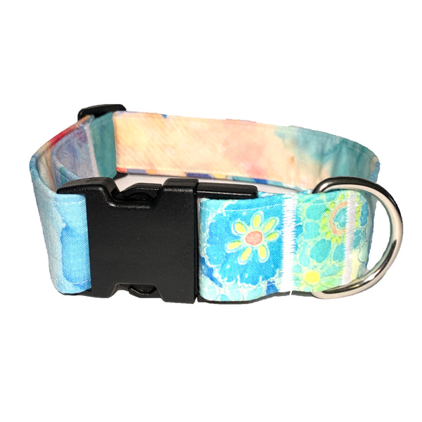 Flower Child Buckle Collar - N.G. Collars