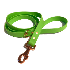 Lime Green Proof Leash - N.G. Collars