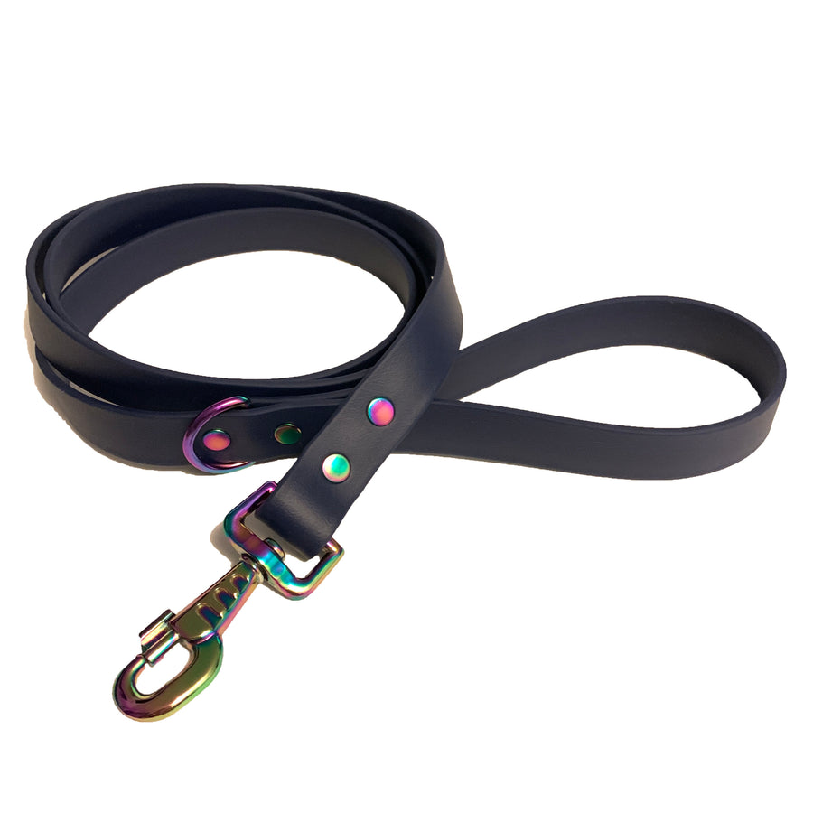Navy Blue Proof Leash - N.G. Collars
