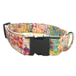 Kaleidoscope Buckle Collar - N.G. Collars