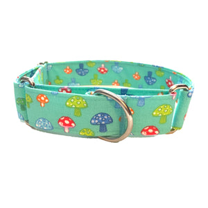 Shrooms Martingale Collar - N.G. Collars