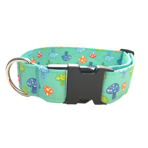 Shrooms Buckle Collar - N.G. Collars