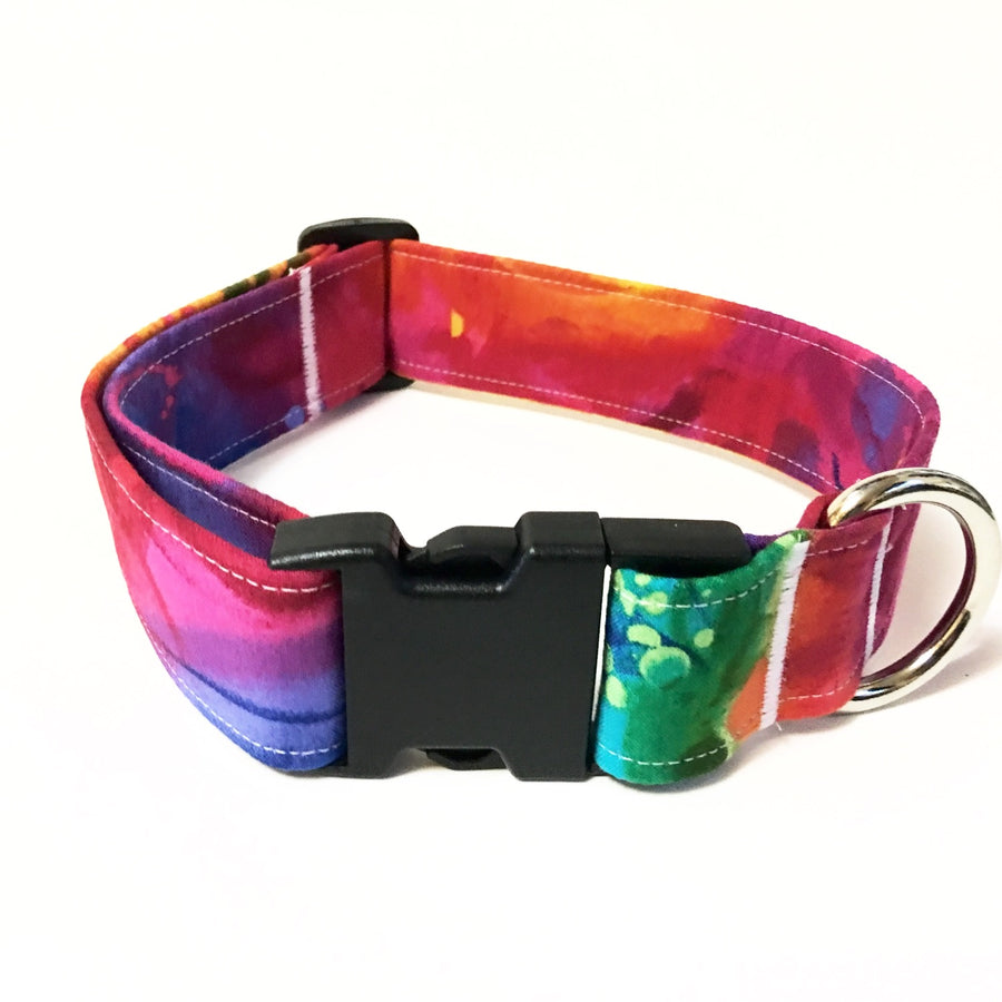 Psychedelic Buckle Collar - N.G. Collars