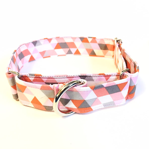 Coral Martingale Collar - N.G. Collars