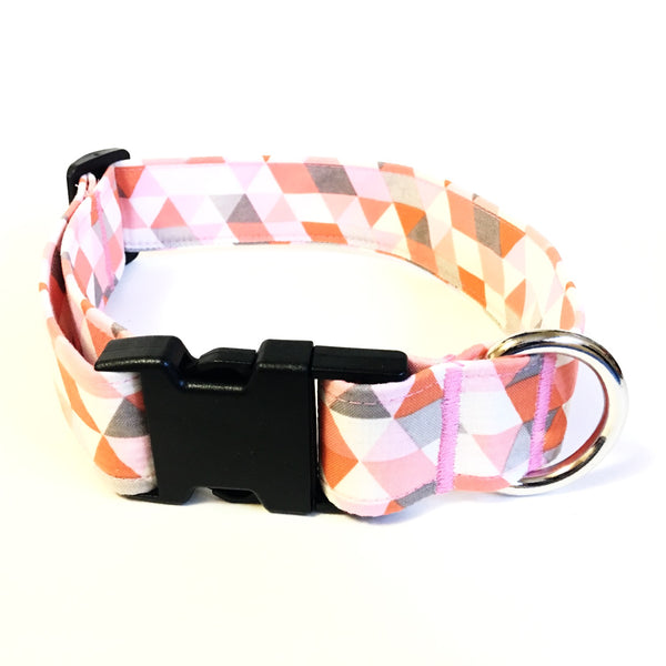 Coral Buckle Collar - N.G. Collars
