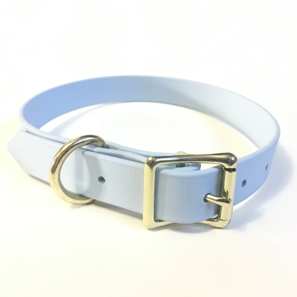 Pastel Blue Proof Collar - N.G. Collars