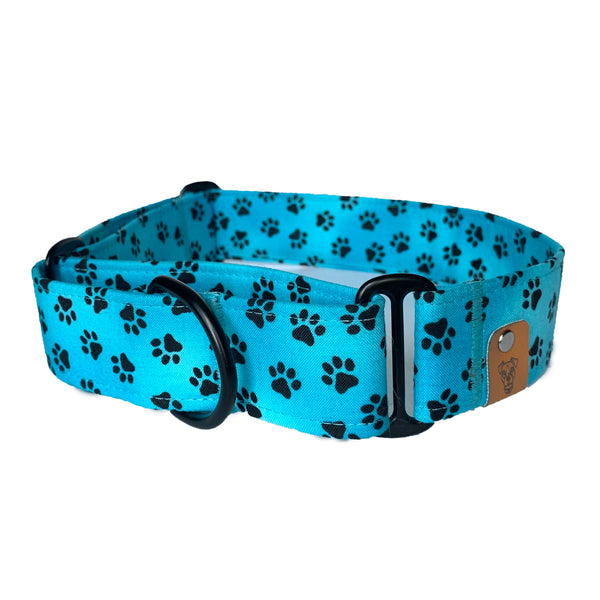 Blue Raspberry Martingale Collar