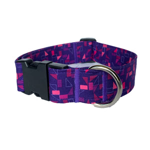 Black Raspberry Buckle Collar