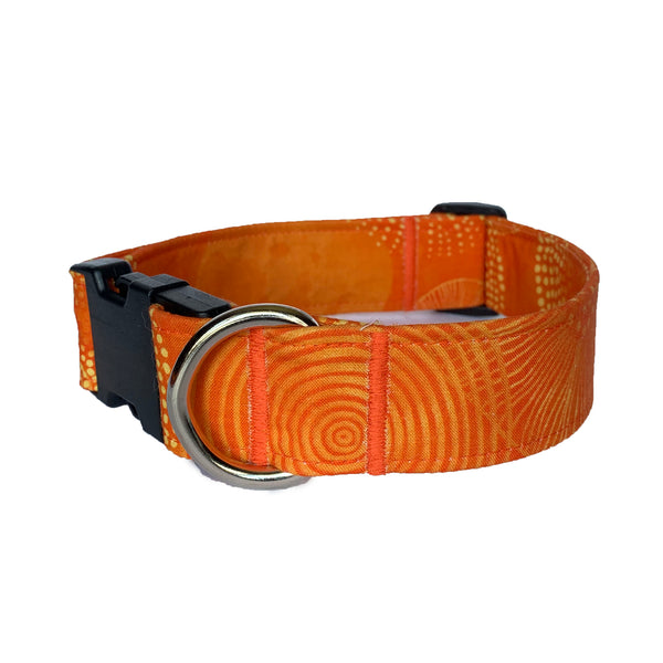 Sunkissed Citrus Buckle Collar