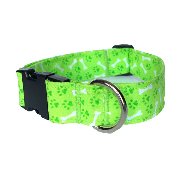 Green Dream Buckle Collar