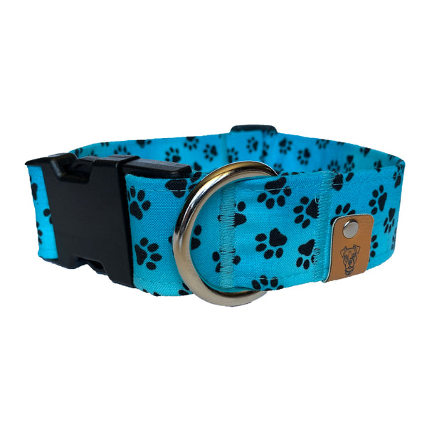 Blue Raspberry Buckle Collar