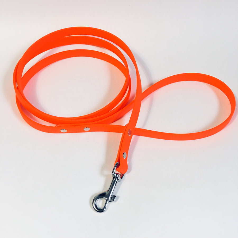 Orange Proof Leash - N.G. Collars