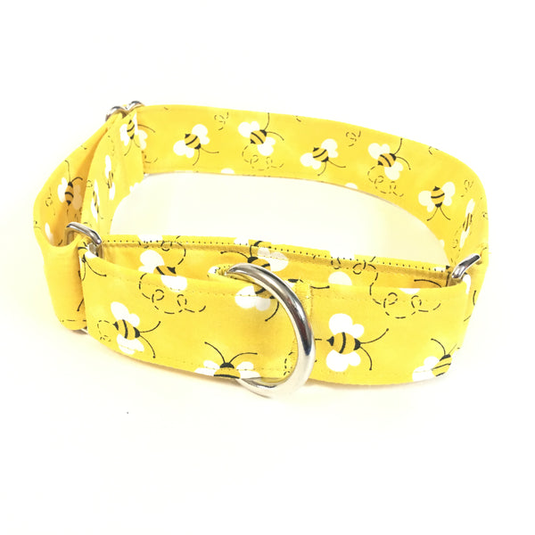 Save the Bees Martingale Collar - N.G. Collars