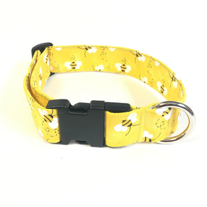 Save the Bees Buckle Collar - N.G. Collars