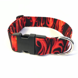 Ring of Fire Buckle Collar - N.G. Collars