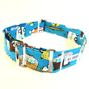 Home Away From Home Martingale Collar - N.G. Collars