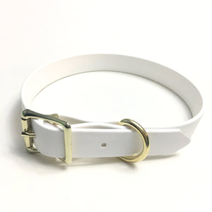 White Proof Collar - N.G. Collars