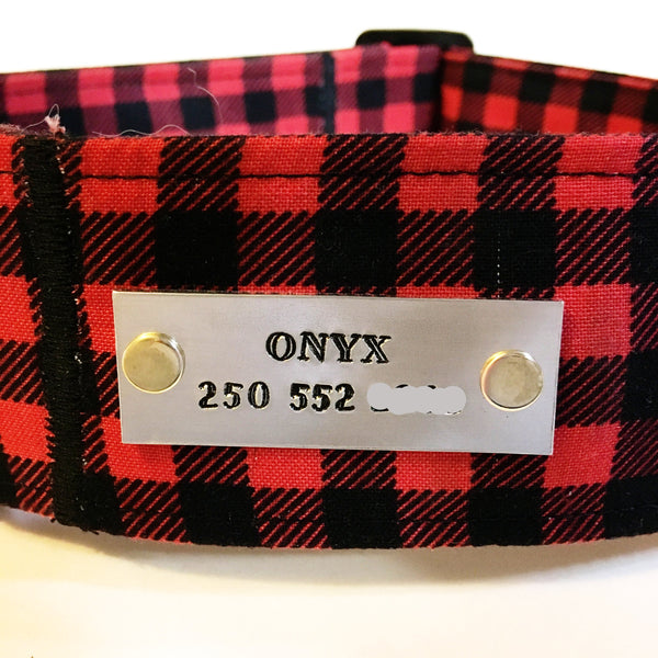 Customized Name Tag - N.G. Collars