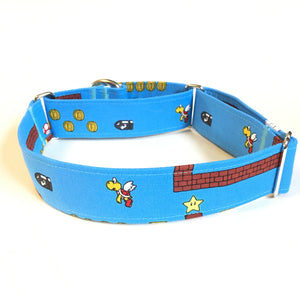 Super Mario Martingale Collar - Small - N.G. Collars