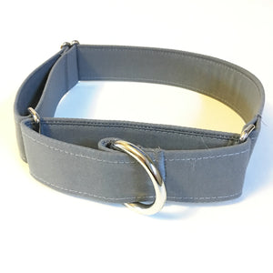 One Shade of Grey Martingale Collar - N.G. Collars