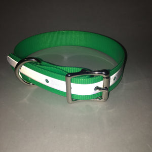 Green Reflective Proof Collar - N.G. Collars