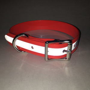 Orange Reflective Proof Collar - N.G. Collars
